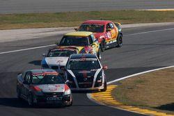 #138 GS Motorsports Chevrolet Cobalt SS: Andrew Danyliw, Gunter Schmidt, #181 APR Motorsport Volkswagen GTI: Ian Baas, Patrick Barrett
