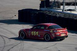 Tour pour #151 Pirate Motorsports Mazda RX-8: Dan Harding, Allen Milarcik