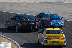 #68 CA Sport Ford Mustang GT: Vesko Kozarov, Keith Rossberg, #18 Motorsport Technology Group Porsche 997: Tony Buffomante, Billy Johnson, #97 Turner Motorsport BMW M3 Coupe: Chris Gleason, Joey Hand