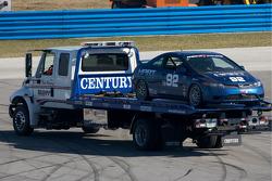 #92 HART Honda Civic SI: Chad Gilsinger, John Schmitt sur la plate-forme