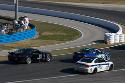 #78 Kinetic Motorsports BMW M3 Coupe: Lee Davis, Russell Smith, #28 Fall-Line Motorsports BMW M3 Coupe: Mark Boden, Steve Jenkins, #68 CA Sport Ford Mustang GT: Vesko Kozarov, Keith Rossberg