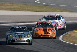 #39 TRG Porsche 997: Duncan Ende, Spencer Pumpelly, #83 BGB Motorsports Porsche Carrera: Craig Stanton, John Tecce