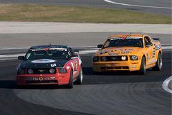 #61 Horsepower Ranch Ford Mustang GT: Hugh Plumb, Jack Roush, #59 Rehagen Racing Ford Mustang GT: De