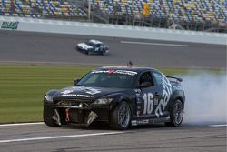 #16 Meyer Motorsports Mazda RX-8: Brian Flint, Bill Marquardt ont des soucis