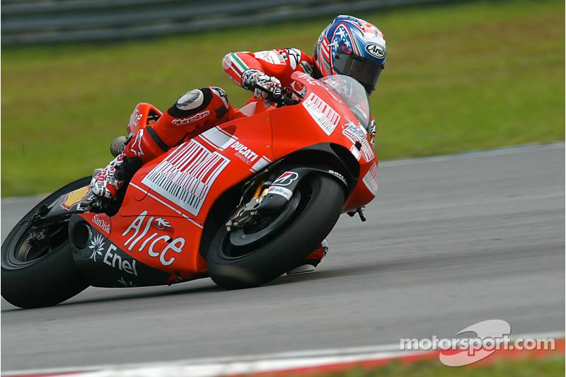 Nicky Hayden de Ducati Marlboro Team