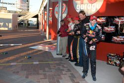 Raybestos Rookie of the Year radio-controlled car race event: Ryan Newman, Stewart-Haas Racing Chevr