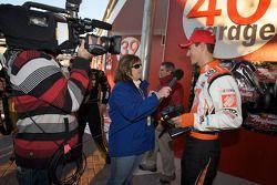 Raybestos Rookie of the Year radio-controlled car race event: Joey Logano, Joe Gibbs Racing Toyota