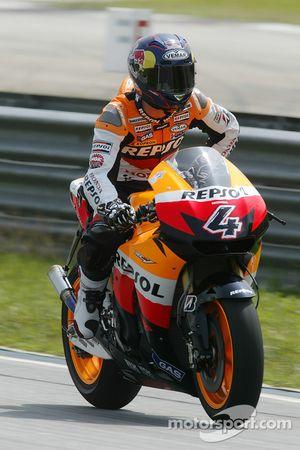Andrea Dovizioso of Repsol Honda Team