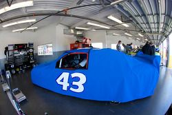 Richard Petty Motorsports Dodge of Reed Sorenson under cover