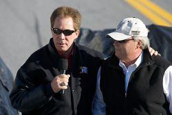 Darrell Waltrip und Rick Hendrick