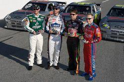 Hendrick Motorsport präsentiert seine Fahrzeuge zur 25. Jubiläumssaison: Dale Earnhardt Jr., Jimmie