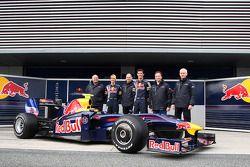 Rob Marshall, Sebastian Vettel, Red Bull Racing, Adrian Newey, Red Bull Racing, Technical Operations