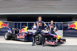 Launch of the RB5, Mark Webber, Red Bull Racing, Sebastian Vettel, Red Bull Racing