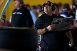 Red Bull Racing Team Toyota garage ambiance