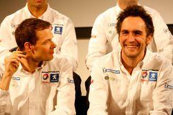 Alexander Wurz et Franck Montagny