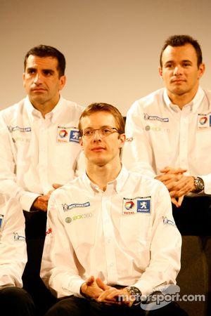 Marc Gene, Sébastien Bourdais et Stéphane Sarrazin