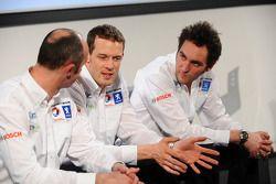 David Brabham, Alexander Wurz et Franck Montagny