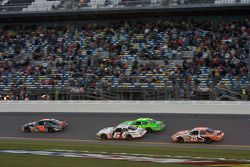James Buescher leads Patrick Sheltra, Justin Lofton and Joey Logano