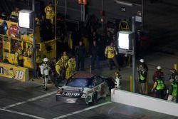 Dale Earnhardt Jr., Hendrick Motorsports Chevrolet heads to the garage