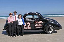 Living legends of auto racing beach parade: Raymond Park