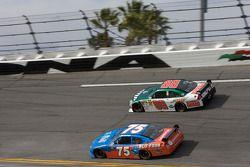 Dale Earnhardt Jr., Hendrick Motorsports Chevrolet, Derrike Cope, Cope/Keller Racing Dodge