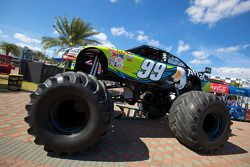 Monster Roush Fenway Racing Ford truck of Carl Edwards