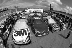 Duel 1 cars ready for the race after tech inspection