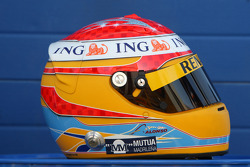 Casco de Fernando Alonso, Renault F1 Team