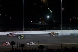 Rick Crawford, David Starr and Jason White crash