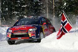 Daniel Sordo et Marc Marti, Citroen C4 Citroen Total World Rally Team