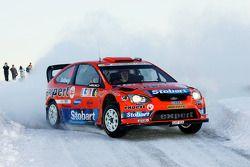Хеннинг Сольберг и Като Менкеруд, Ford Focus RS WRC 08, Stobart VK M-Sport Ford Rally Team