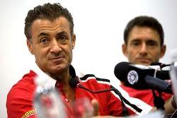 Jean Alesi et Gianni Morbidelli