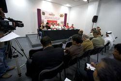 Les médias en conférence de presse
