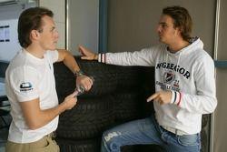Yelmer Buurman et Giedo Van der Garde