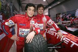 Marco Bonanomi and Alvaro Parente
