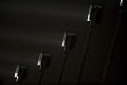 Las luces en el Circuito internacional de Losail