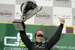 Podium: le vainqueur Nico Hulkenberg