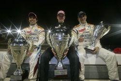 Vainqueur Nico Hulkenberg, seconde place Sergio Perez, troisième place Vitaly Petrov