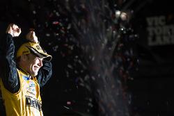 Victory lane: race winner Matt Kenseth, Roush Fenway Racing Ford celebrates