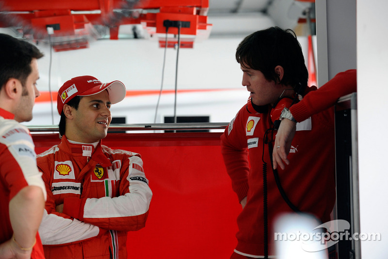 Felipe Massa, Scuderia Ferrari, ve Rob Smedley