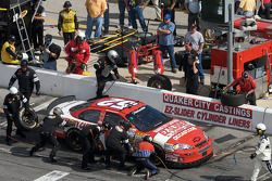 Pit stop for Donnie Neuenberger