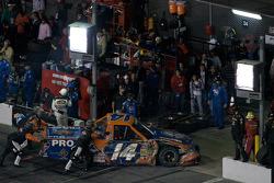Rick Crawford pushed to the garage