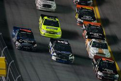 J.R. Fitzpatrick leads a group of trucks