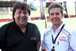Tony Teixeira, A1GP Chairman and Pete da Silva
