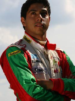 Salvador Duran, driver of A1 Team Mexico