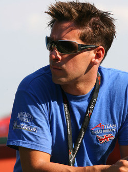 James Winslow, driver of A1 Team Great Britain