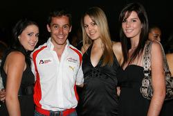 Filipe Albuquerque, driver of A1 Team Portugal bbq