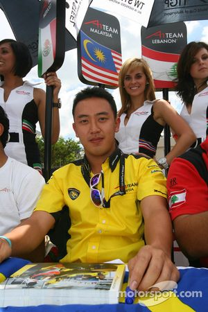 Aaron Lim, driver of A1 Team Malaysia