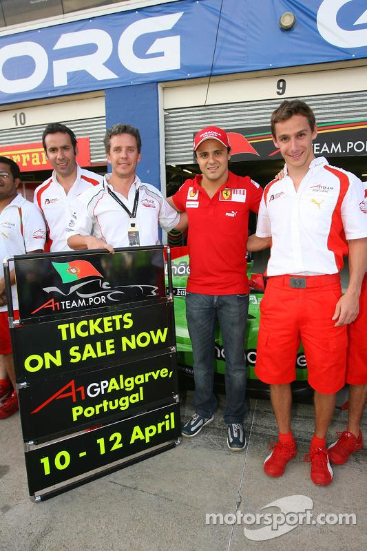 Фелипе Масса и Филипе Альбукерк, A1 Team Portugal