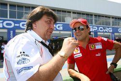 Tony Teixeira et Felipe Massa
